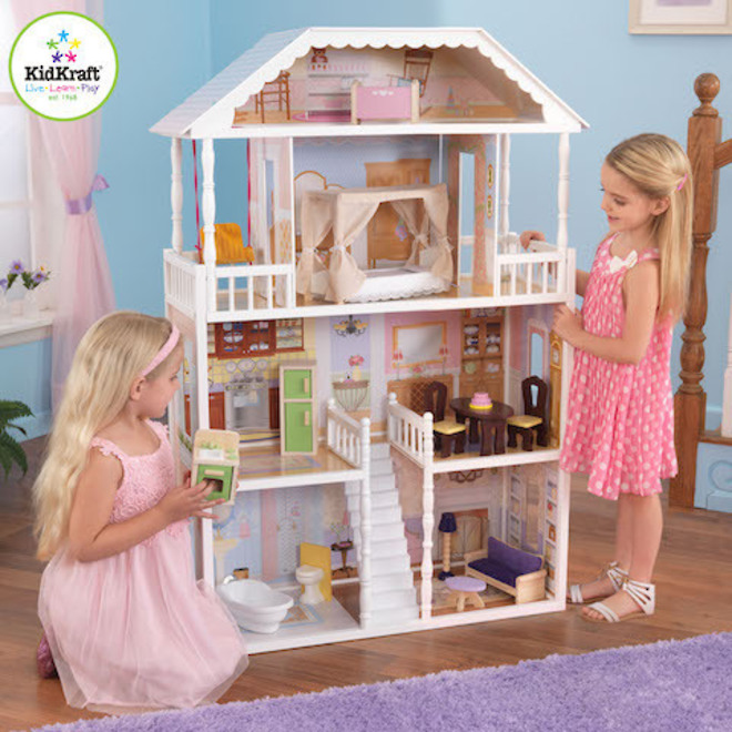 Kidkraft Savannah Dollhouse - In storage until Level 4 is lifted - Pre-Orders accepted now image 0
