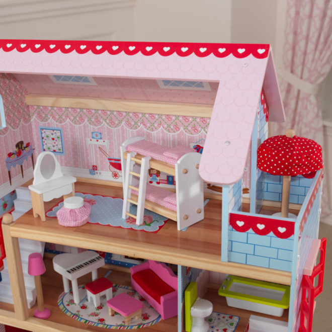 KidKraft Chelsea Doll Cottage - In storage until Level 4 is lifted - Pre-Orders accepted now image 2