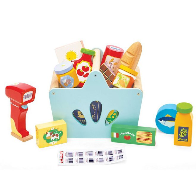 Le Toy Van Grocery Set & Scanner image 1