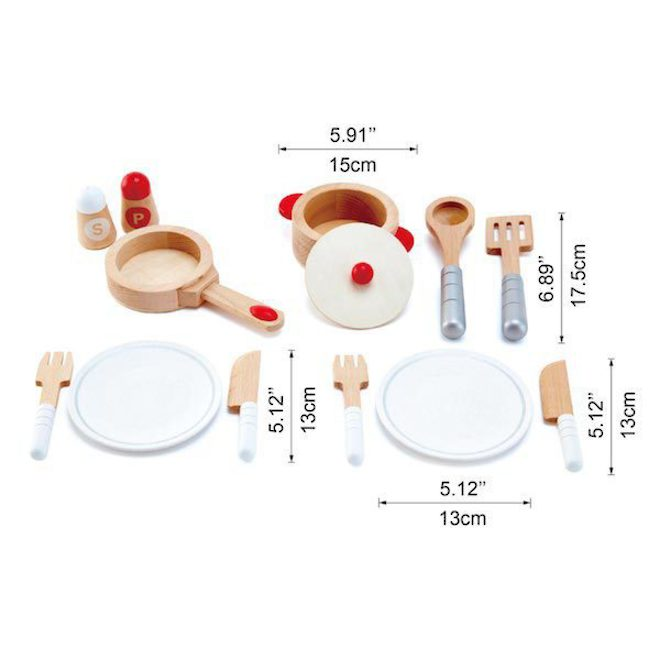 Hape Cook & Serve Set image 2