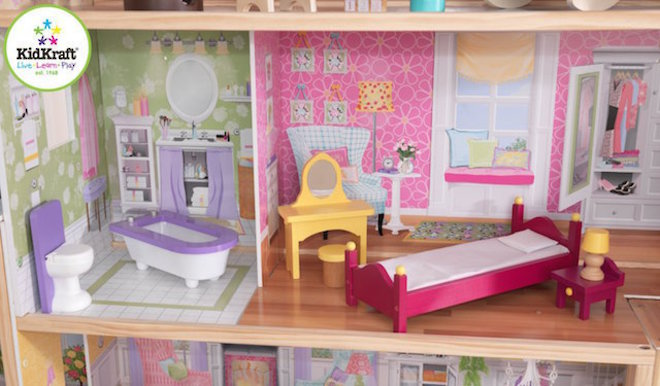 KidKraft Majestic Mansion Dollhouse - In storage until Level 4 is lifted - Pre-Orders accepted now image 2