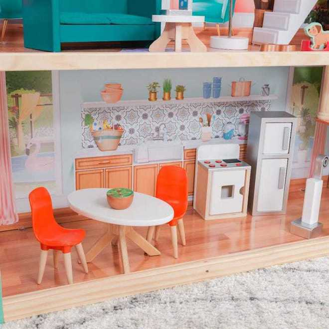 KidKraft Dahlia Mansion Dollhouse - Arriving back April 27th - Pre-Orders accepted now image 7