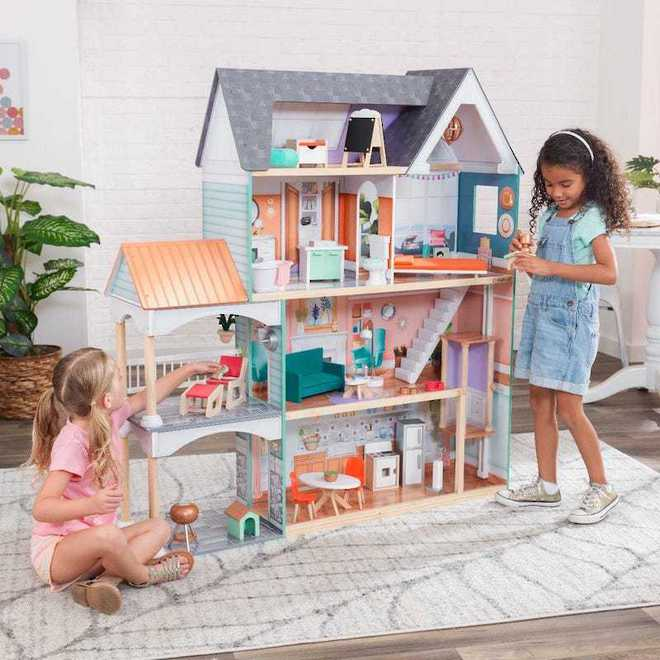 KidKraft Dahlia Mansion Dollhouse - Arriving back April 27th - Pre-Orders accepted now image 0