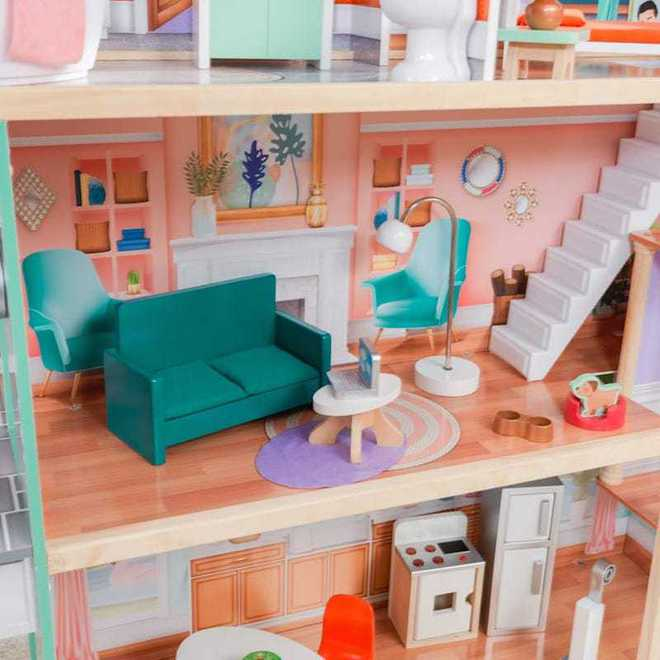 KidKraft Dahlia Mansion Dollhouse - Arriving back April 27th - Pre-Orders accepted now image 5