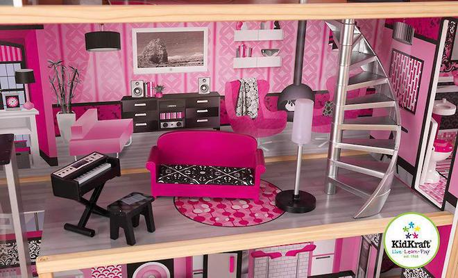 KidKraft Sparkle Mansion Dollhouse - In storage until Level 4 is lifted - Pre-Orders accepted now image 8