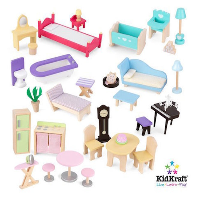 KidKraft Majestic Mansion Dollhouse - In storage until Level 4 is lifted - Pre-Orders accepted now image 11