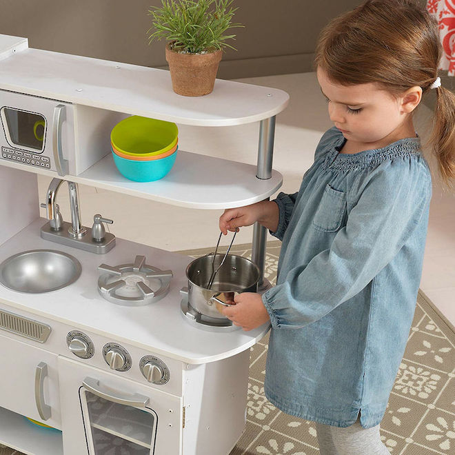 Kidkraft White Vintage Kitchen - In storage until Level 4 is lifted - Pre-orders accepted now image 7