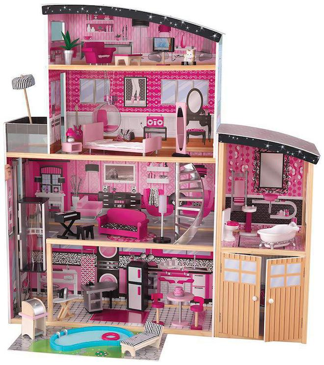 KidKraft Sparkle Mansion Dollhouse - Arriving April 27th - Pre-Orders accepted now image 1
