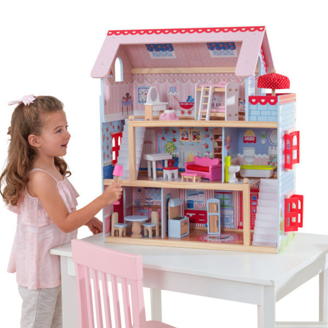 KidKraft Chelsea Doll Cottage - In storage until Level 4 is lifted - Pre-Orders accepted now image 0