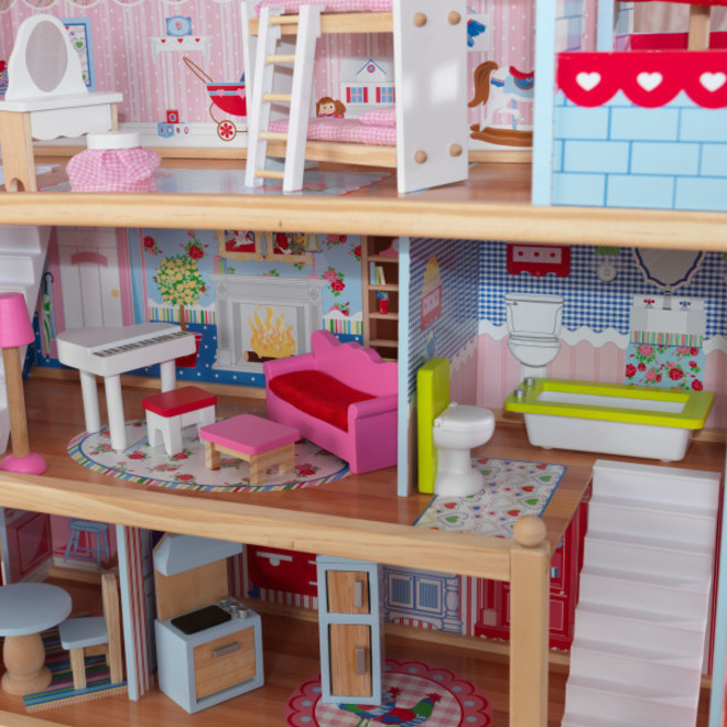 KidKraft Chelsea Doll Cottage - In storage until Level 4 is lifted - Pre-Orders accepted now image 3