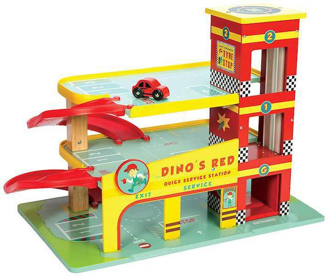 Le Toy Van Dino's Red Garage image 0