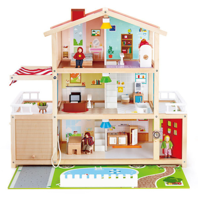 Hape Doll Family Mansion image 0