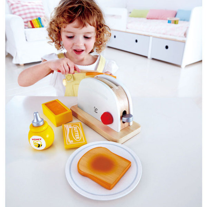 Hape Pop-Up Toaster white image 1