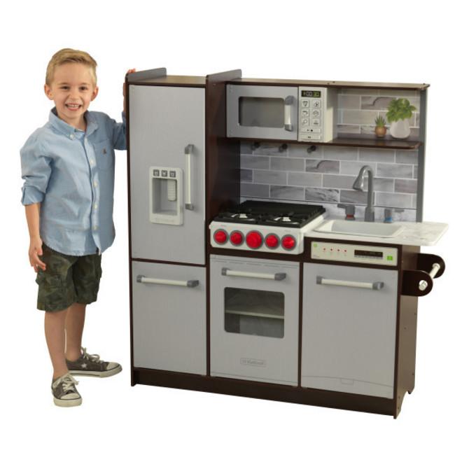 KidKraft Uptown Elite Espresso Play Kitchen image 0