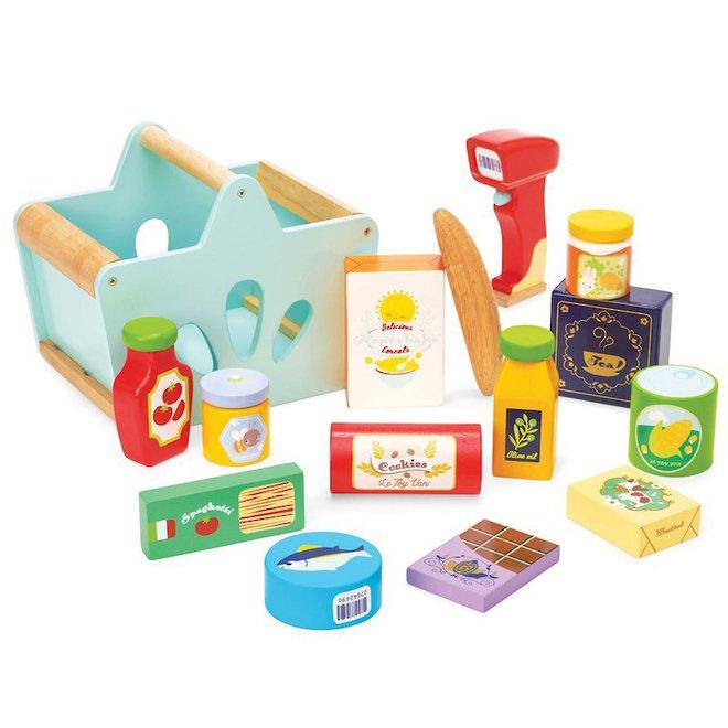Le Toy Van Grocery Set & Scanner image 0