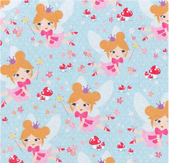 Free Gift Wrapping in Fairies paper image 0