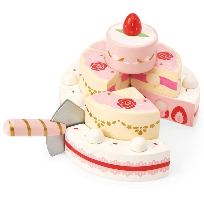 Le Toy Van Strawberry Wedding Cake image 1