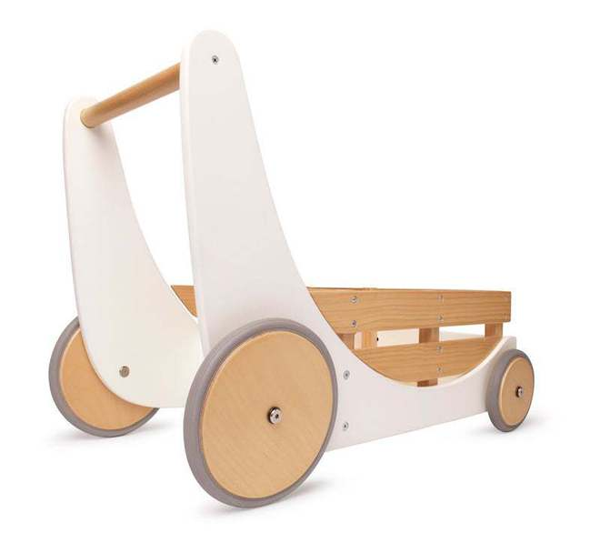 Kinderfeets Cargo Baby Walker white image 1