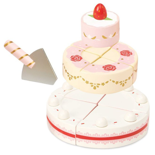 Le Toy Van Strawberry Wedding Cake image 2