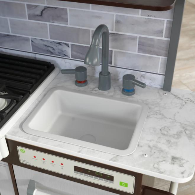 KidKraft Uptown Elite Espresso Play Kitchen image 4