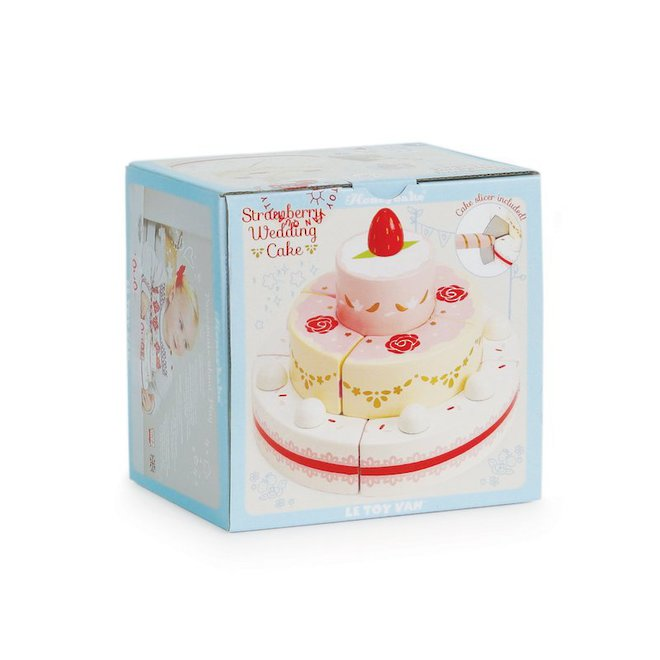 Le Toy Van Strawberry Wedding Cake image 4