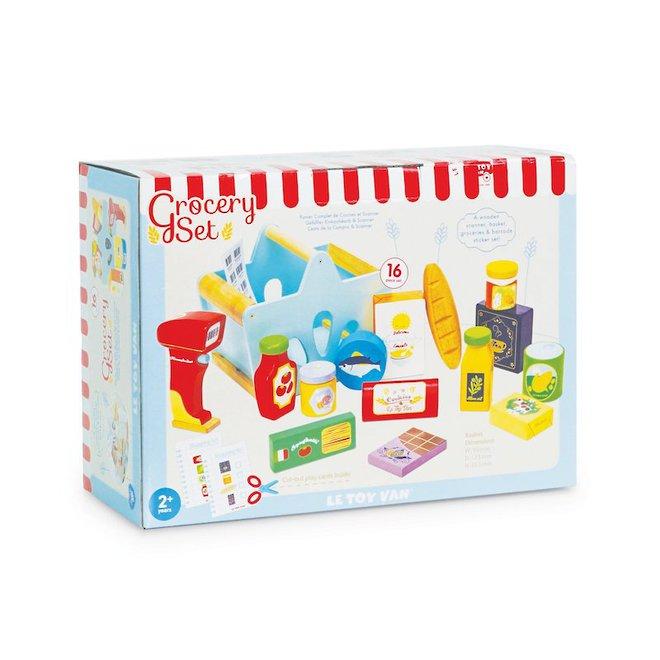 Le Toy Van Grocery Set & Scanner image 2