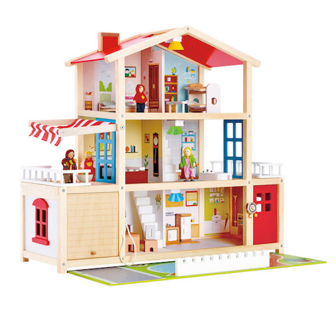Hape Doll Family Mansion image 1