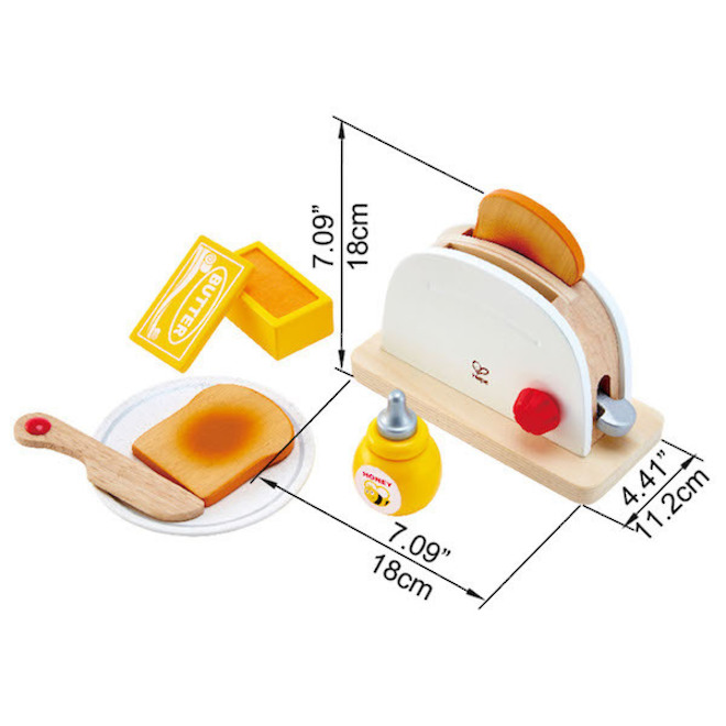 Hape Pop-Up Toaster white image 2