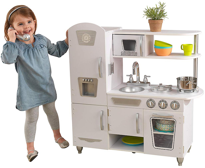 Kidkraft White Vintage Kitchen - In storage until Level 4 is lifted - Pre-orders accepted now image 0