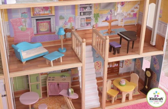 KidKraft Majestic Mansion Dollhouse - In storage until Level 4 is lifted - Pre-Orders accepted now image 3