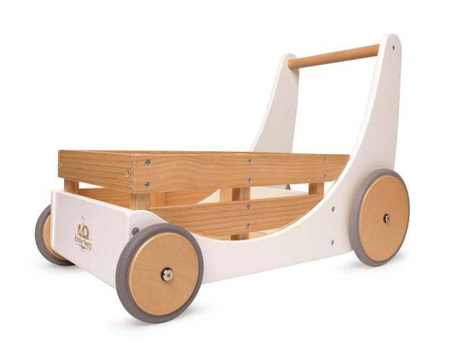 Kinderfeets Cargo Baby Walker white image 0