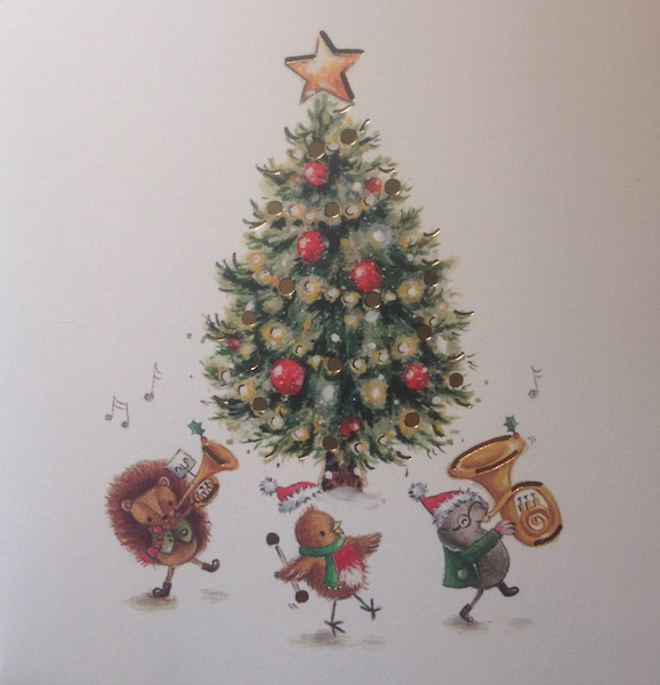 Xmas Gift Card - Have a lovely Christmas image 0