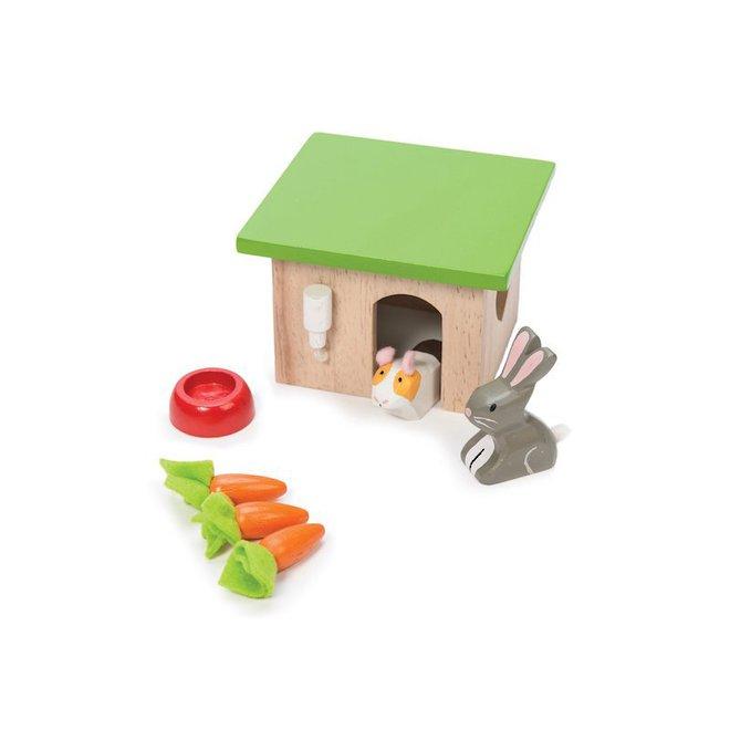 Le Toy Van Bunny & Guinea Pet Pals image 0