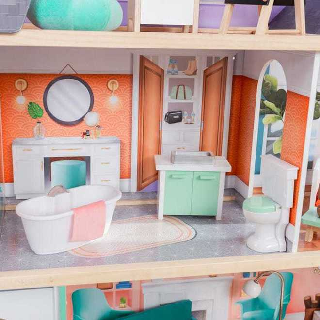 KidKraft Dahlia Mansion Dollhouse - Arriving back April 27th - Pre-Orders accepted now image 4