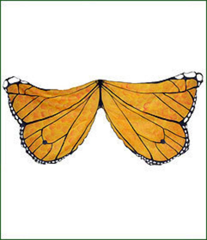 Butterfly Wings orange image 1
