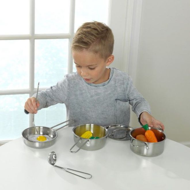KidKraft Deluxe Cookware set - In storage until Level 4 is lifted - Pre-Orders accepted now image 1