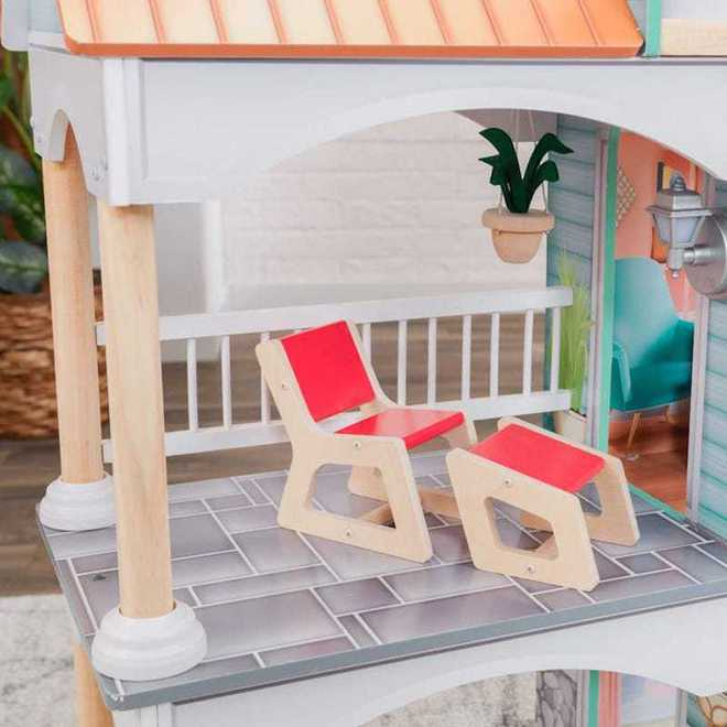 KidKraft Dahlia Mansion Dollhouse - Arriving back April 27th - Pre-Orders accepted now image 6