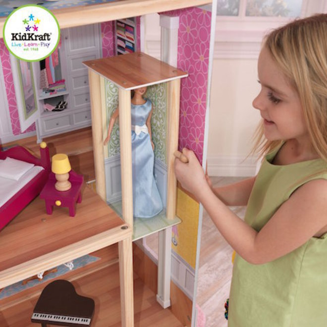 KidKraft Majestic Mansion Dollhouse - In storage until Level 4 is lifted - Pre-Orders accepted now image 4