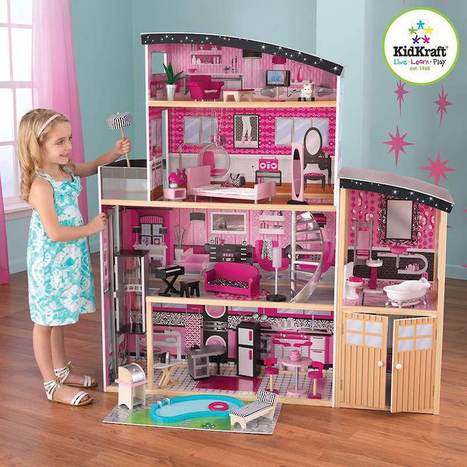 KidKraft Sparkle Mansion Dollhouse - Arriving April 27th - Pre-Orders accepted now image 0