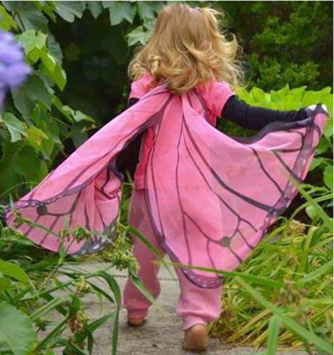 Butterfly Wings pink image 2