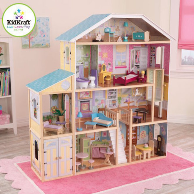 KidKraft Majestic Mansion Dollhouse - In storage until Level 4 is lifted - Pre-Orders accepted now image 1