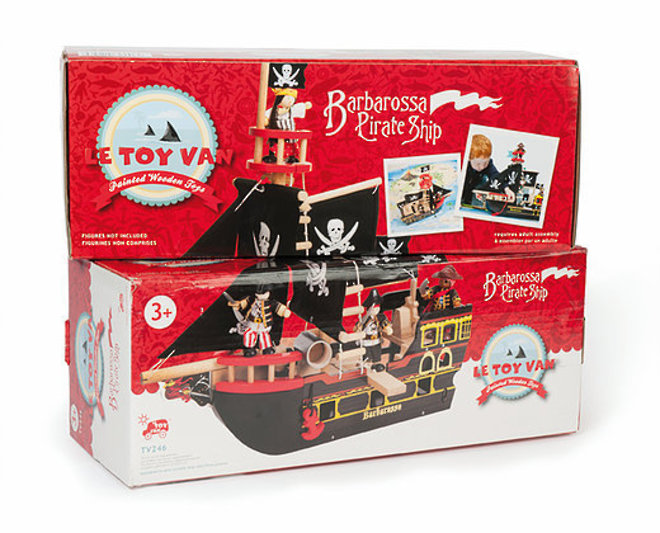 Le Toy Van Barbarossa Pirate Ship image 5