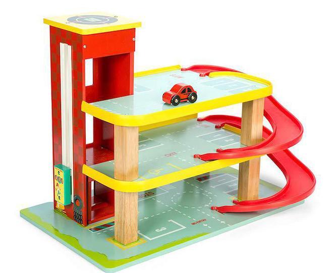 Le Toy Van Dino's Red Garage image 1