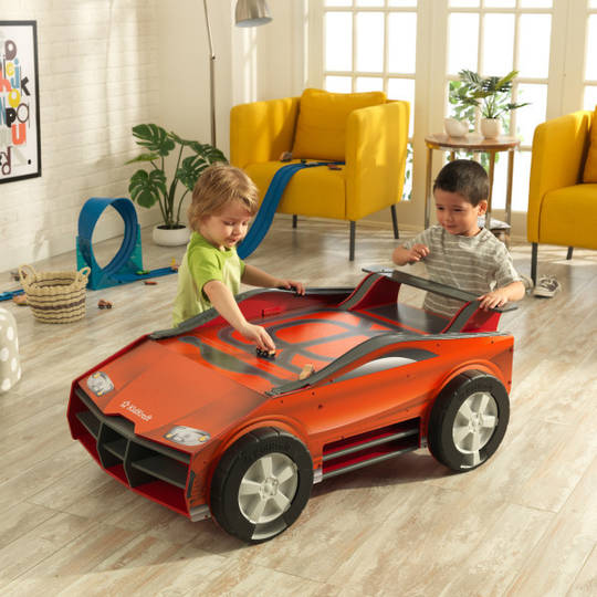 KidKraft Speedway Play 'n Store Activity Table