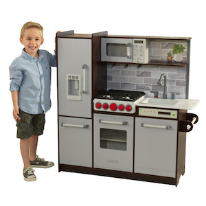 KidKraft Uptown Elite Espresso Play Kitchen