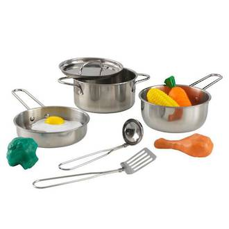 KidKraft Deluxe Cookware set - In storage until Level 4 is lifted - Pre-Orders accepted now