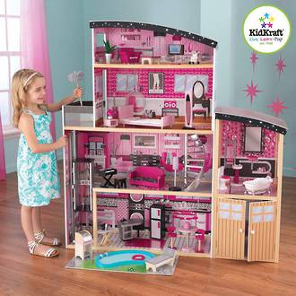 KidKraft Sparkle Mansion Dollhouse - In storage until Level 4 is lifted - Pre-Orders accepted now