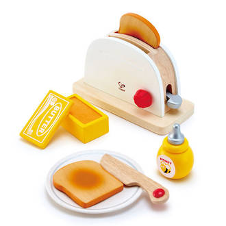 Hape Pop-Up Toaster white