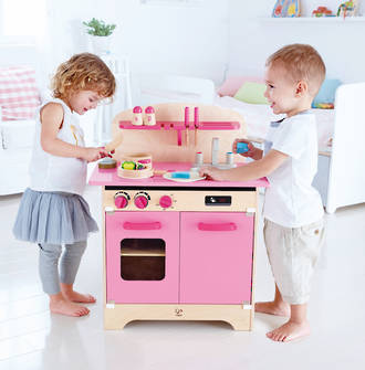 Hape All Inclusive Pink Kitchen