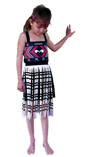 Maori Girl Costume small